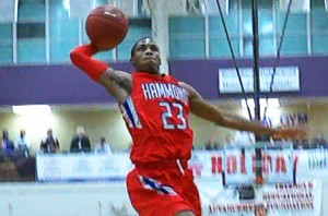 Seventh Woods Rises Up For The Big And1 Dunk!